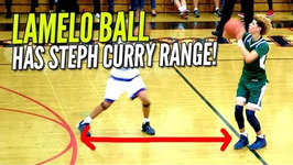 LaMelo Ball And His Steph Curry Range Average 30 PPG at The Battlezone