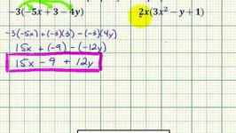Ex : Apply the Distributive Property Involving Trinomials