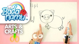 Badanamu Arts and Crafts Episode 8 - Let's Draw Mipi