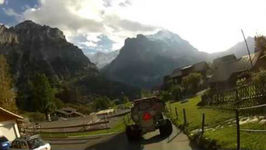 Hardcore Downhill Trotti Biking In Grindelwald, Switzerland