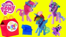 mlp happy meal toys my little pony c