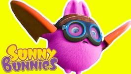 Cartoon - Sunny Bunnies - BRAVE PILOT - Funny Cartoons for Children