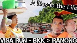 Visa Run From Bangkok To Ranong - Living In Thailand Vlog (ADITL EP 75)
