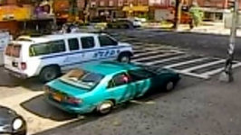 NYPD Blames Man Killed By Police Van For His Own Death