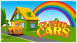 The Clever Cars Build A House - Children's 3d Cartoons