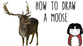 How to draw a moose drawing animals with kids video by how to draw a moose drawing anim thecheapjerseys Images