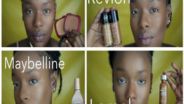 4 Drugstore Foundation Routines - Full Face Talk Through