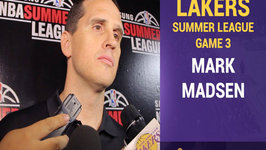 Mark Madsen Takes Responsibility For Loss - I Drew Up A Bad Play