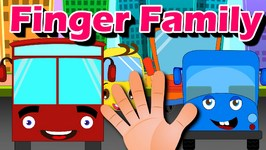 Wheels On The Bus Finger Family Nursery Rhyme  Finger Family Songs  Wheels on the Bus