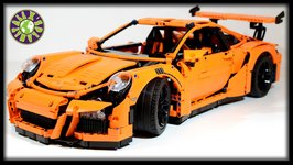 AMAZING LEGO SET. PORSCHE 911 GT3 RS for 300. Speed Build Lego Animation