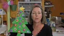 DIY Whimsical Wood Christmas Tree  Christmas Crafts