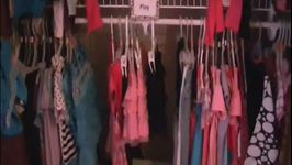 Organizing Clothes for Back to School