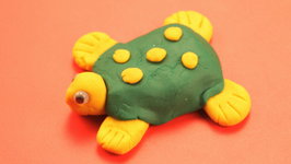 Playdoh Tortoise