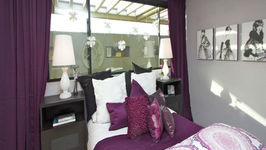 RoomTour in PURPLE for Stephanie's Christmas Surprise