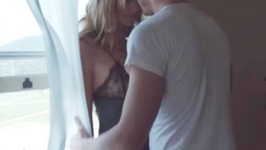 Heidi Klum turns up the heat in Lingerie Ad set to Sia's song