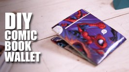 Mad Stuff With Rob - DIY Comic Book Wallet  Superhero Special