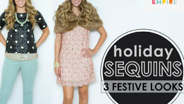 3 Ways to Wear Sequins During the Holidays
