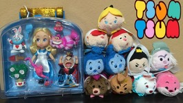Disney Tsum Tsum Alice in Wonderland and Animators Bonus