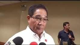 Esperon cites the importance of peace processes for the country's development