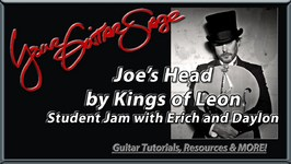 YGS - Joe's Head - Kings of Leon - Student Jam with Erich and Daylon