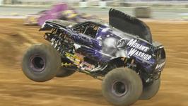Monster truck madness terrorizes Barcelona