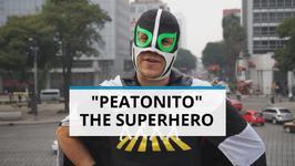 Mexico City's Superhero- Luchador Saves Pedestrians