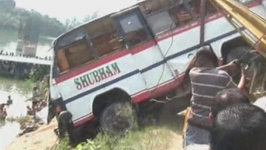 Bus Crashes into Lake Killing 24