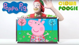 Funny Clown Videos  Clown Poogie  Peppa Dreams  A Funny Video For Kids