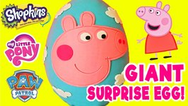 Peppa Pig Play Doh Surprise Egg Videos For Chil.