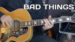 Bad Things by Jace Everett - Guitar Lesson with Erich Andreas