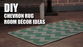 Mad Stuff With Rob- DIY Chevron Rug- Room Decor Ideas