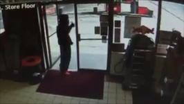 Would-be-Robber Recognizes Employee, Gives Thumbs Up