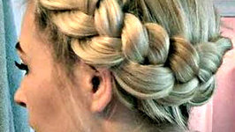 Part 2 Crown Braids - 3 Strands