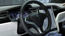 Tesla Model X P100D Interior Design Trailer