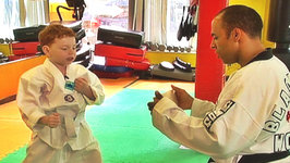 This is Daniel Cook Learning Tae Kwon Do