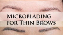 Vlog - Microblading Thin Brow Touchup and Neutralize