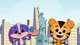 Yankee Doodle  Learn About United States of America  Tiggy and Boo Around the World