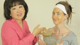 Homemade Organic Ginger Honey Lemon Mask