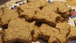 Dog Treats- Home Made Dog Treats- Bones Recipe