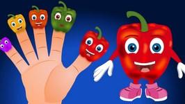 Pepper Finger Family Rhyme  Capsicum Finger Family   Finger Family Rhyme