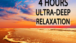 4 Hours of Ultra Deep Relaxation - Binaural Beat (432Hz Music) Theta Wave