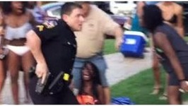 Police Brutality Cop Who Tackled Bikini Teen Won't Face Charges