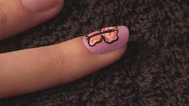 Nail Art: Butterfly Wings