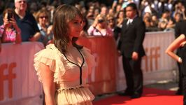 The stars shine on the red carpet at the Toronto Film Festival