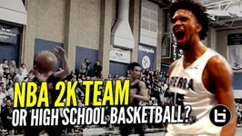 NBA 2K Squad In The Form of High School Basketball Marvin Bagley And Sierra Canyon Dominate