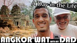 Father And Son Exploring Angkor Wat Cambodia Vlog (ADITL EP 182)