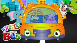 Wheels On the Bus  Popular Nursery Rhyme for children  Children Nursery Rhymes