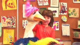 This is Emily Yeung putting on a Puppet Show