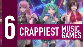 6 Crappiest Music Games Of All Time