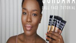 Jordana 2 in 1 Foundation Full Face Dark Skin